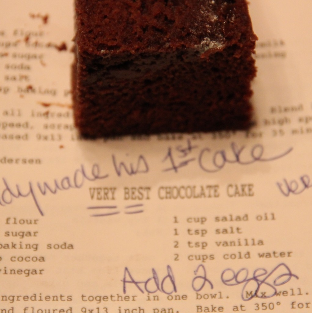 The Very Best Chocolate Cake
