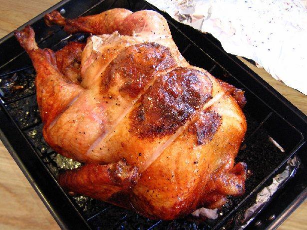 Upside down turkey